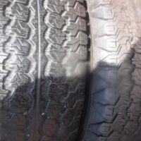 2xGoodyear Wrangler ATSA tyres 265/65/17,as new!!