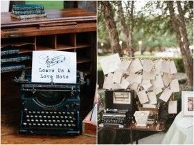 maquina de escrever decoração de casamento 01