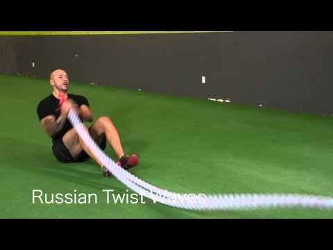45 Epic Battle Ropes Exercises You MUST Try - Renton Gym - YouTube