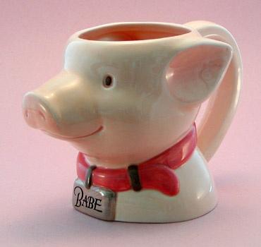 Babe Piggy Mug