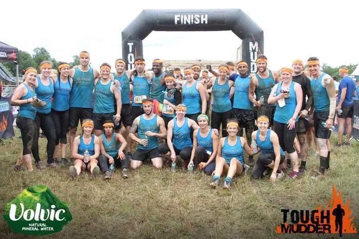 Tough mudder team 2014