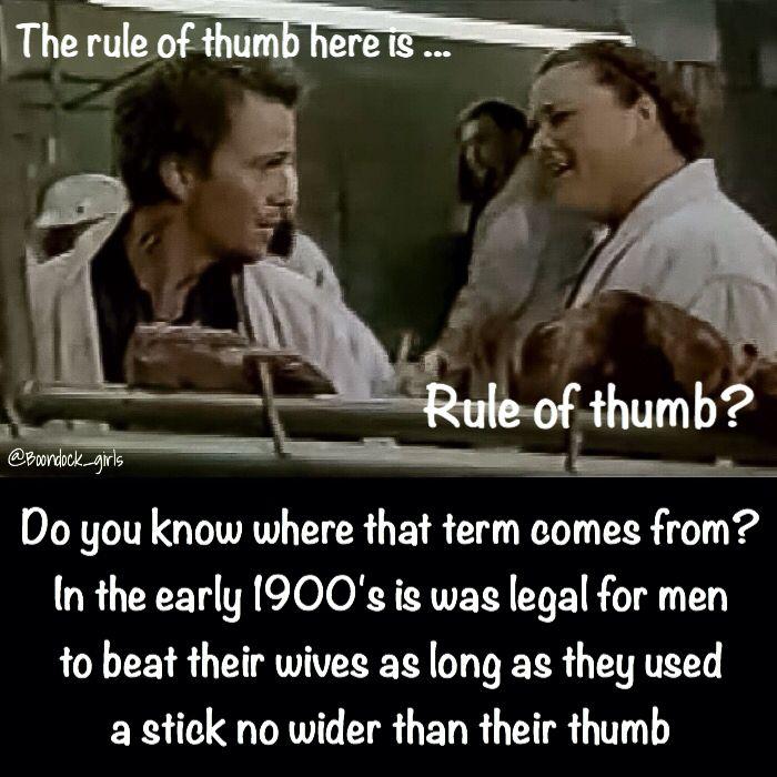 Rule of thumb beat