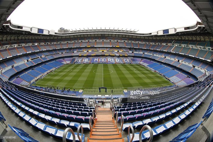 A general view before the UEFA Champions League semi final second leg match between Real Madrid CF and Juventus at Estadio Santiago Bernabeu on May 13, 2015 in Madrid, Spain.