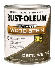 Best Wood Stain Ever - Rust-Oleum Ultimate Wood Stain