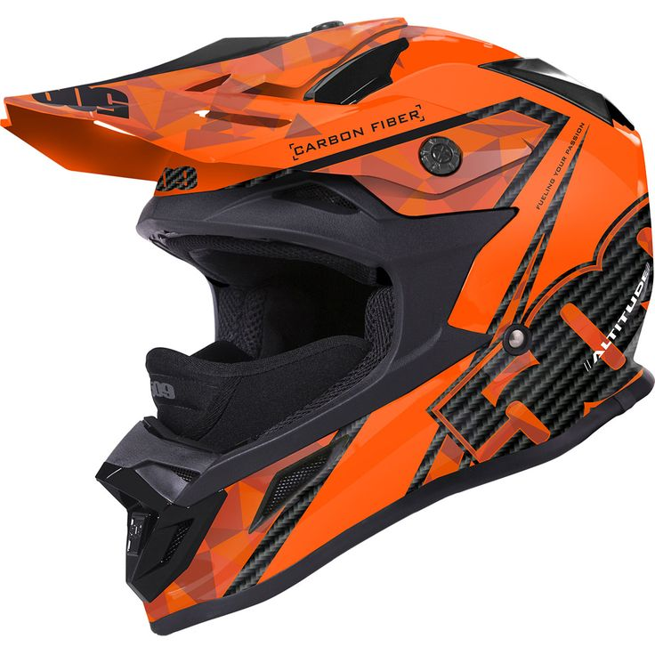 Check out the deal on 509 Altitude Carbon Fiber Orange Snowmobile Helmet at…