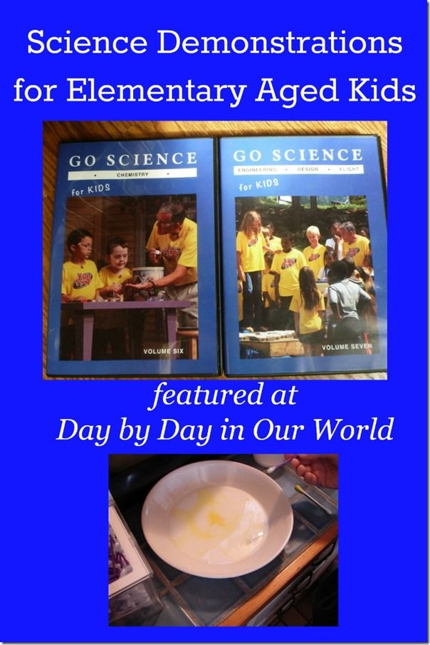 Science Demonstrations for Elementary Aged Kids with Go Science (Series 2) DVDs