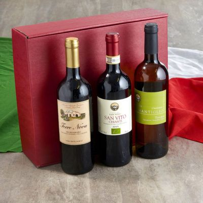 Trio of Organic Wine Hamper