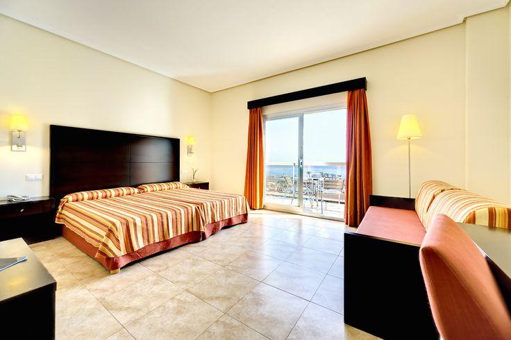 Habitación del #CabogataMarGarden #GardenHotels #Almería