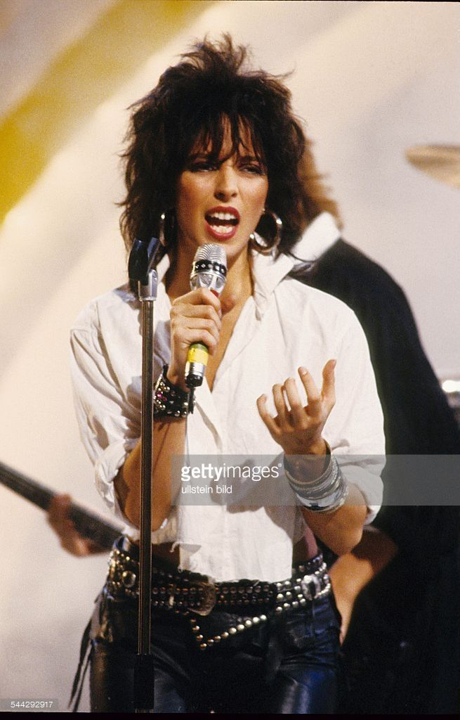 Nena *Musikerin, Saengerin, D Auftritt 1986 en 2020