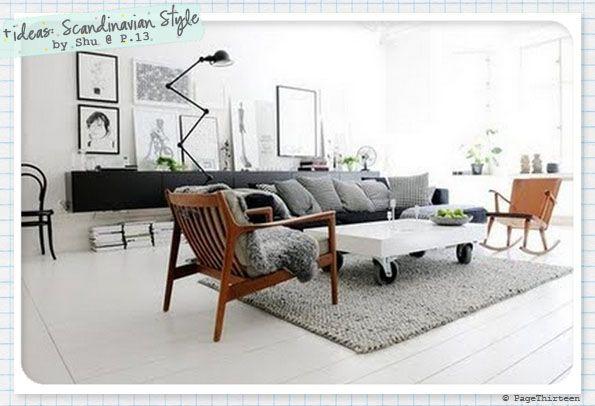 Page Thirteen: + ideas: Doing Scandinavian - Bright Whites & Colours