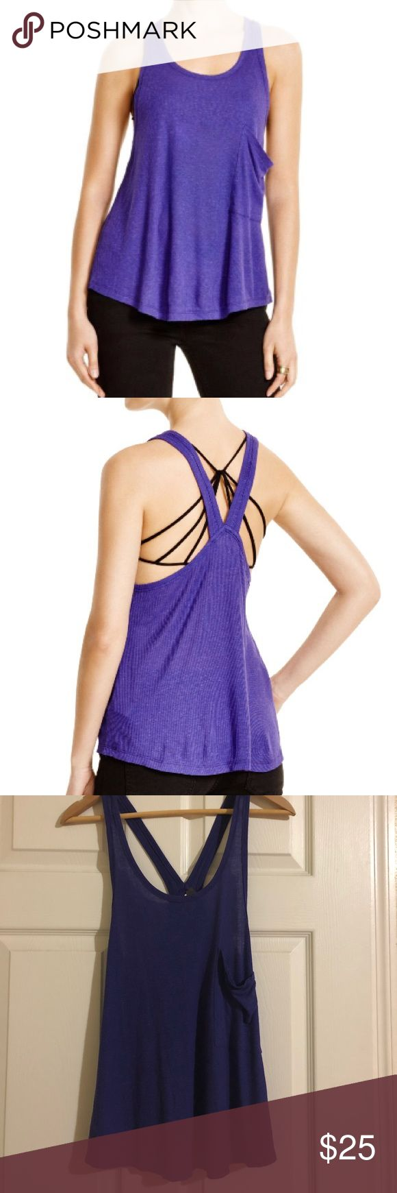 NEW Free People Purple Tank Top NEW Free People Purple Tank Top.  85% Rayon, 15% Linen   Please let me know if you have any questions. Free People Tops