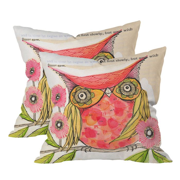 1000+ images about My Special Love For Owls on Pinterest Owl pillows, Outdoor throw pillows ...