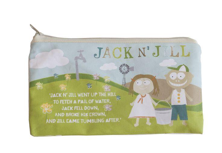 Jack N'Jill Bio - Bawełniana saszetka na szczoteczkę i pastę do zębów