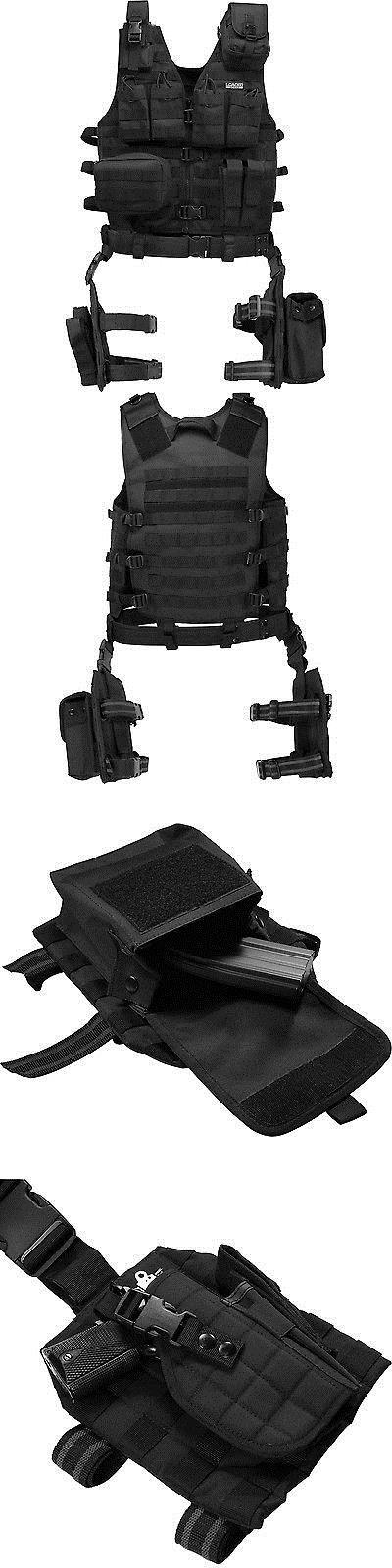 Other Tactical and Duty Gear 177902: Barska Bi12016 Vx-100 Customizable Loaded Gear Black Tactical Vest, Leg Platform -> BUY IT NOW ONLY: $97.99 on eBay!
