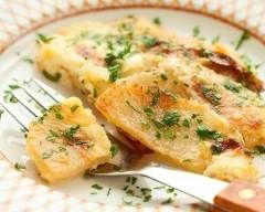 Navets gratinés au parmesan : http://www.cuisineaz.com/recettes/navets-gratines-au-parmesan-70585.aspx