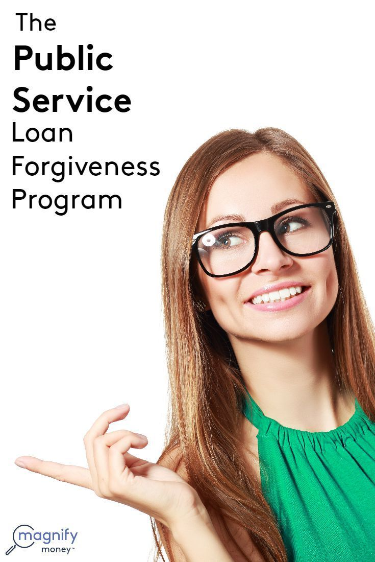 Loans issued within William D. Ford Federal Direct Loan (Direct Loan) Program are eligible for the Public Service Loan Forgiveness Program (PSLF). These include Direct Subsidized Loans (Stafford Loans), Direct Unsubsidized Loans, Direct PLUS Loans, and Direct Consolidation Loans. http://www.magnifymoney.com/blog/college-students-and-recent-grads/public-service-loan-forgiveness-program1083343658