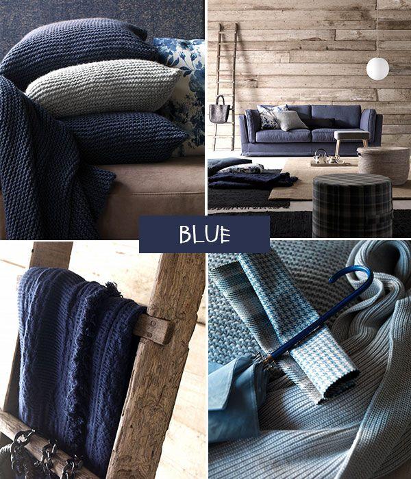 Come scegliere i colori delle pareti di casa: il blu. Su www.modaearredamento.com