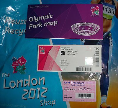 London 2012 olympic games paralympics #england v usa #football #ticket memorabili,  View more on the LINK: http://www.zeppy.io/product/gb/2/192040503800/
