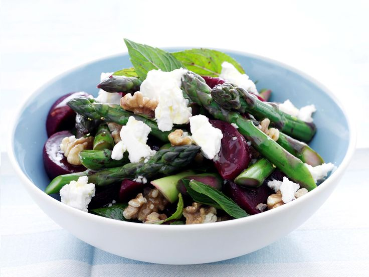 This simple vegetable dish only utilises a couple ingredients, but the fresh mint, sweet beetroot and salty fetta make this a sophisticated side to fish, pork or poultry.