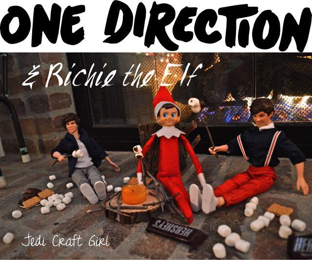 Jedi Craft Girl: One Direction & Richie the Elf