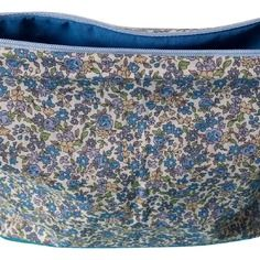Trousse de toilette liberty bleu