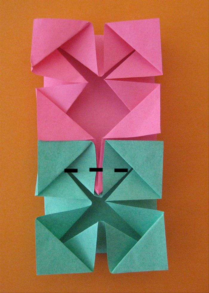 simple crafts making: Origami photo frame and photo cube making