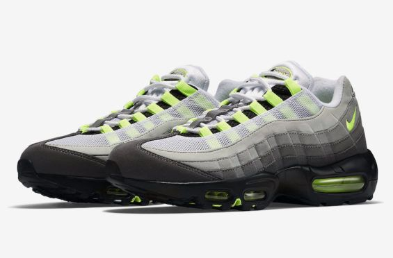 The Nike Air Max 95 OG Neon Returns Next Month