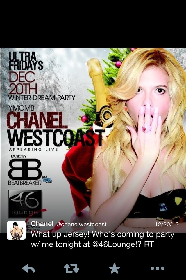 Chanel west cost