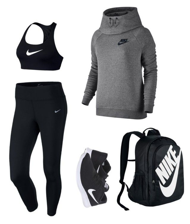 """""""Comfy Nike"""" by lily141 on Polyvore featuring NIKE"""