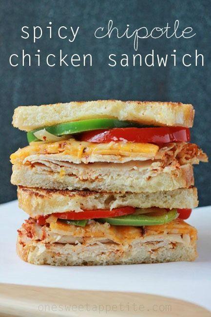 Spicy chipotle chicken sandwich