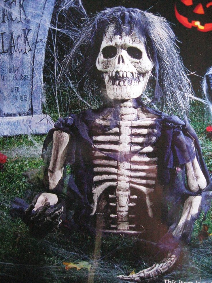 20ground breaker skeletonzombiescary halloween decoryardprop - Best Scary Halloween Decorations