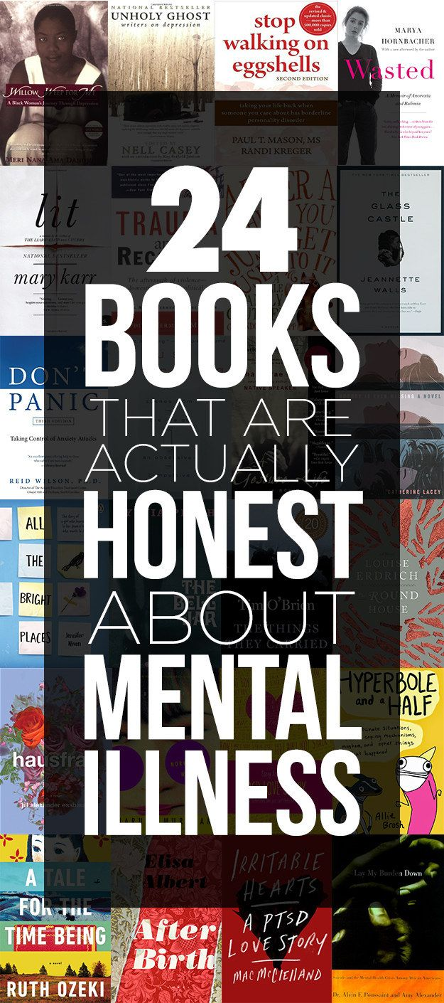 24 Books That Are Straightforward About Mental IllnessStephanie Faure