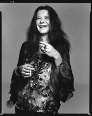 Janis Joplin, singer, Port Arthur, Texas, August 28. 1969; © 2009 The Richard Avedon Foundation