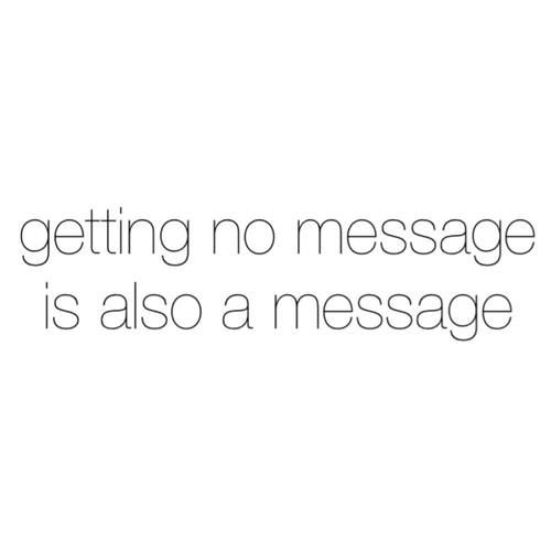 I tried one LAST time, got no message, and said fuck it. It was what I needed for peace and closure. If they don't want me, they're missing out.