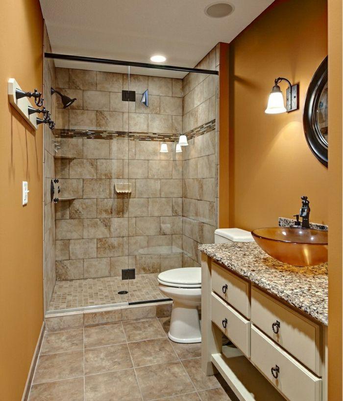 M s de 25 ideas incre bles sobre ducha de granito en - Imagenes de banos pequenos con ducha ...