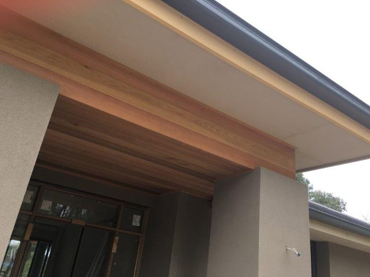 entry - red cedar lined
