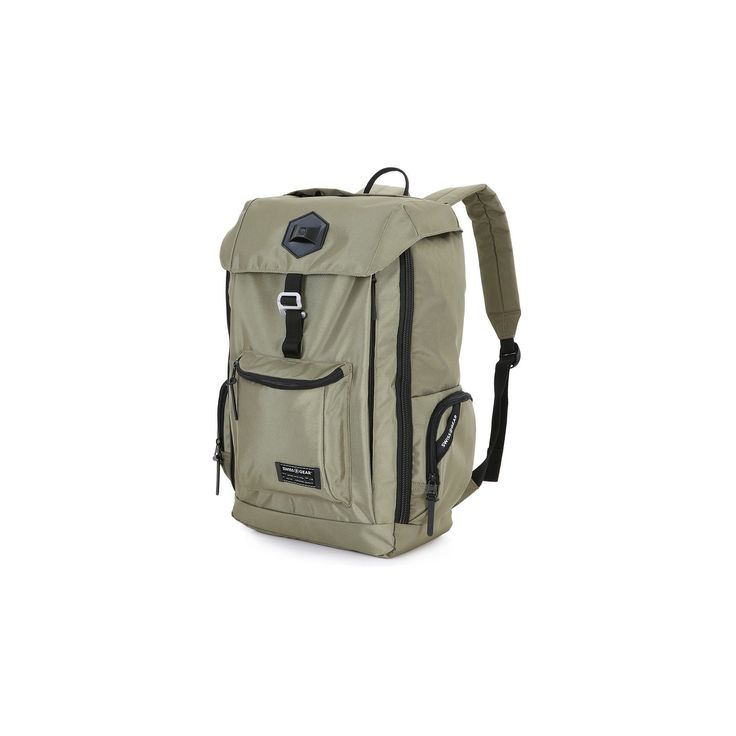 SwissGear 17 Laptop Backpack - Olive Green, Green Olive