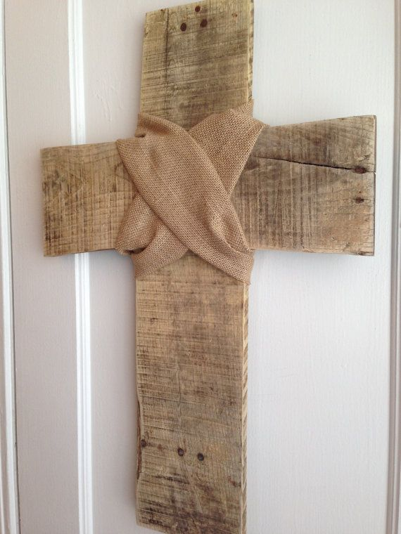 Large Distressed Wall Decor : Best ideas about cross wall art on twine