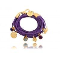 purple magic/bracelet By Dziubeka