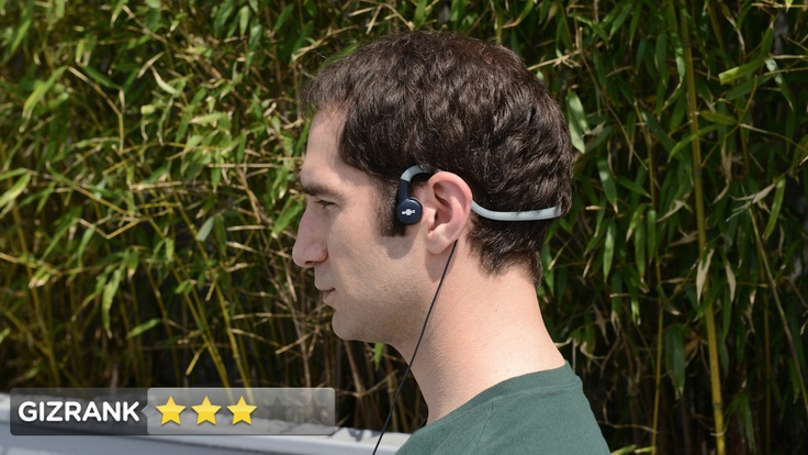 The Best Headphones for Running - I want the AfterShokz! They use bone conduction - delivering sound through your cheekbones so you can leave your ears open to hear street noise and not get killed.