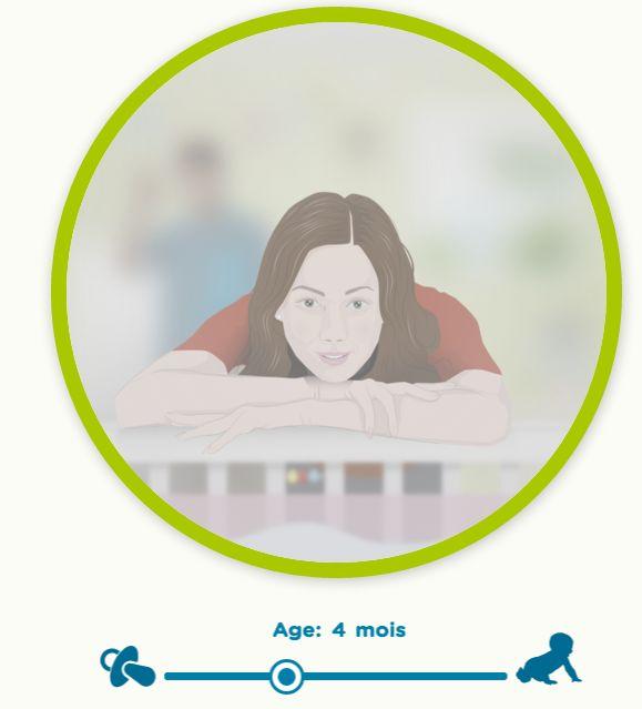 Desopticiens britanniquesproposentune expérience interactive enrichissante: découvrir ce que voitun nourrisson, de sa naissance à son premier anniversaire.