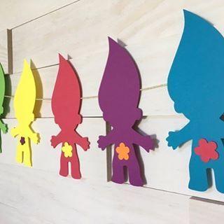 fiesta-de-cumpleanos-con-tema-de-trolls (16) - Curso de Organizacion del hogar