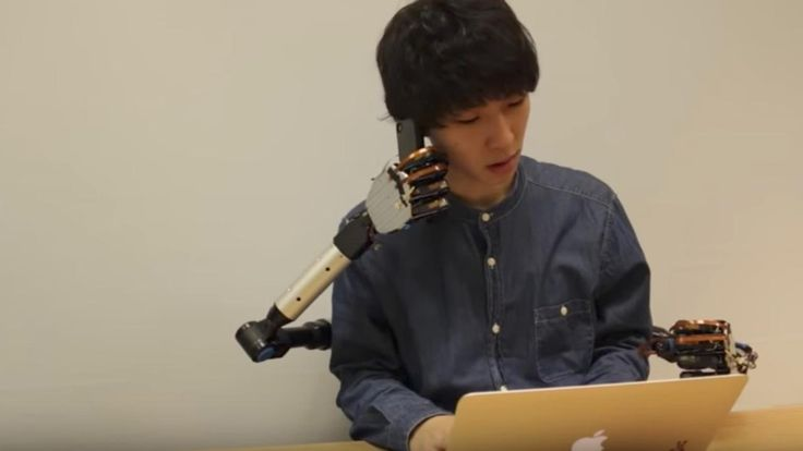 Researchers at University of Tokyo and Keio University have developed a set of robotic arms controlled by the user's feet and legs.