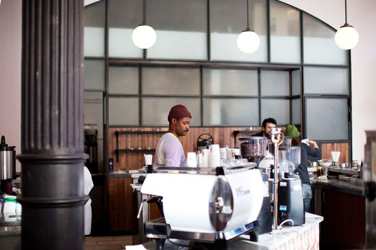 "Our Fave Local Coffee Joints, Plus The 15 Cutest Baristas In NYC! #refinery29  http://www.refinery29.com/baristas#slide26  Do you have regulars? If so, do you have any fun stories about building relationships with them? ""Sure, there are of course people who come in on a regular, daily basis. Inevitably, there is a story arch to our conversations and you begin to become more informed about who they are. This kind of relationship building is part of what makes La Colombe so special. But what I…"