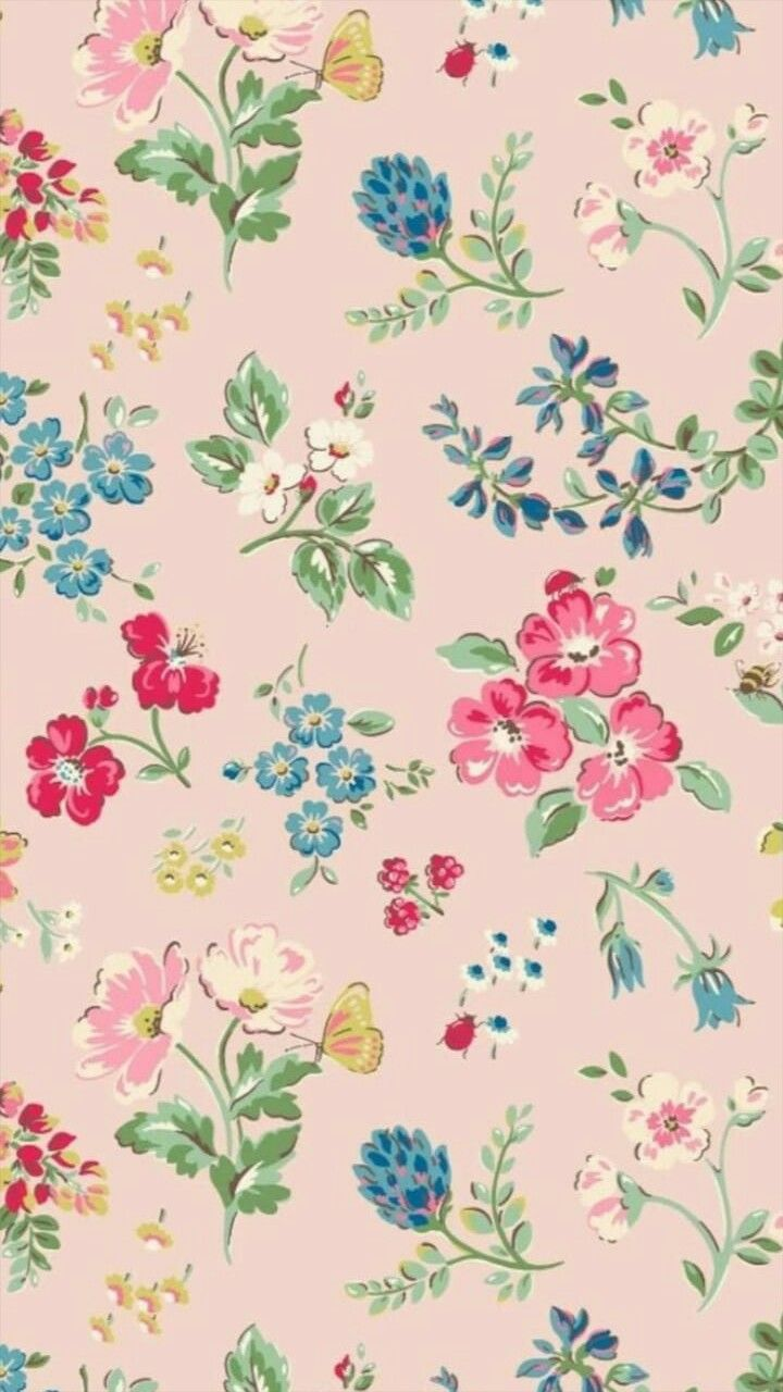 Pin By Emily Doll On Patterns Vintage Floral Backgrounds Cath
