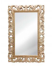 Винтажное Итальянское зеркало в интерьере Слоновая кость Золото Патина
