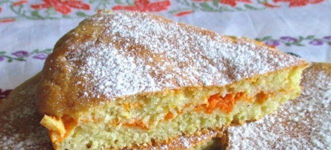 Пирог на кефире на скорую руку