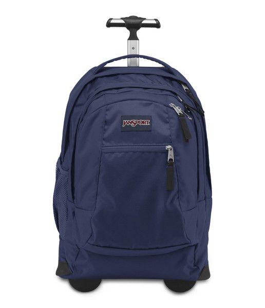 Jansport Driver 8 Wheeled Backpack - Navy