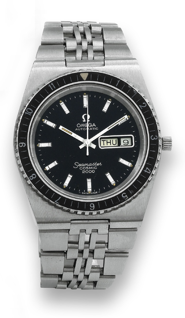 We'll end today's watch pins with a classic Omega Seamaster Cosmic 2000. Soooweeet.