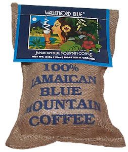 Jamaican Blue Mountain   coffee     In 1728, the governor of Jamaica, Sir Nicholas Lawes, received one coffee plant as a gift from the Governor of Martinique. The plant took root with vigor and only nine years later, in 1737, coffee exportation began with an initial shipment of 83,000 lbs. This is when the Jamaican coffee industry was born.